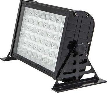 Schwarz LED Fluter 48W Warmweiß