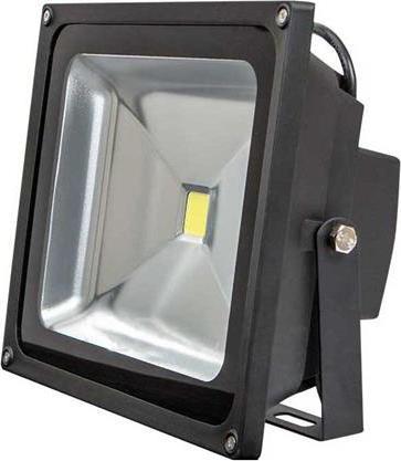 Schwarzer LED Strahler 50W Tageslicht