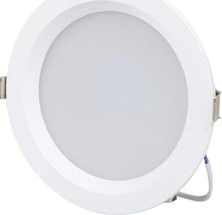 Runde LED Badleuchte 10W Warmweiß