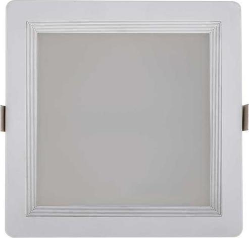 Hranaté LED kúpeľňové svietidlo 30W teplá biela