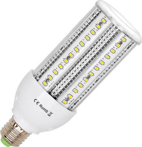 LED žiarovka verejné osvetlenie E27 38W teplá biela