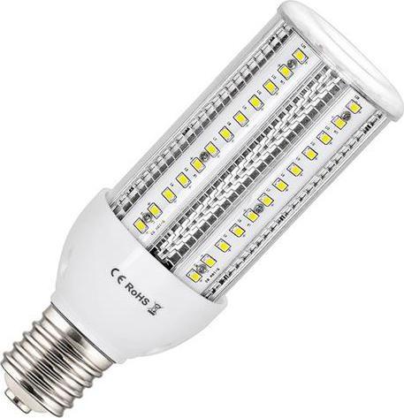 LED priemyselná žiarovka E40 38W teplá biela