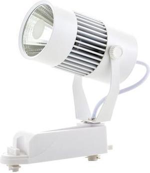 Biely fazovy lištový LED reflektor 20W teplá biela