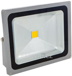 LED reflektor 50W teplá biela