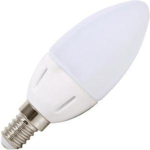 Mini LED žiarovka E14 sviečka 5W biela