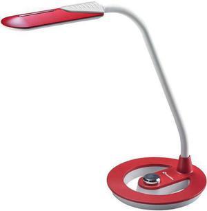LED stolná lampa 6W 16 SMD červená