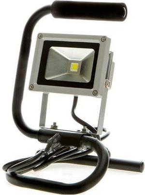 LED reflektor 10W so stojanom biela
