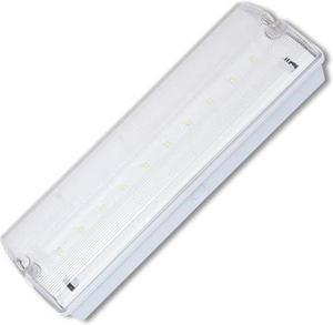 LED núdzové svietidlo 3,3W 10xSMD