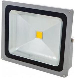 Stmievateĺný LED reflektor 50W biela