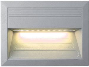 Vstavané vonkajšie LED svietidlo 135 x 180mm teplá biela
