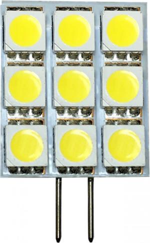 LED žiarovka G4 2W Kapsula teplá biela