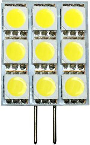LED žiarovka G4 2W Kapsula studená biela
