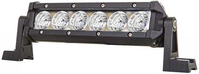 LED pracovné svetlo 6x3W BAR 10 30V DC