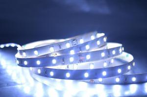 LED pásik 14,4W/m bez krytia studená biela