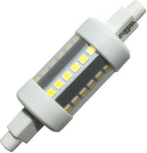 LED žiarovka R7S 6W studená biela
