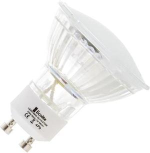 LED žiarovka GU10 1W 3SMD teplá biela