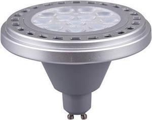LED žiarovka AR111 GU10 15W teplá biela rozptylová 100°