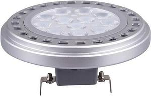 LED žiarovka AR111 G53 15W teplá biela rozptylová 100°