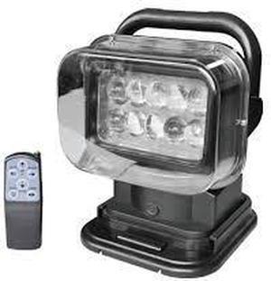 Polohovateĺné LED pracovné svetlo 50W 12V 360° s diaľkovým ovládačom
