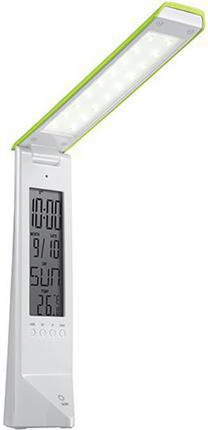 Multifunkčná LED stolná lampa Daisy zelená stmievateĺná