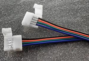 RGB konektor + kábel + konektor LED pásik