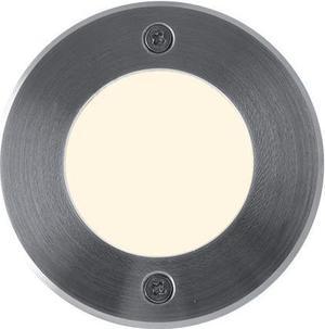 Nájazdové LED svietidlo do zeme 230V 1W 9LED teplá biela