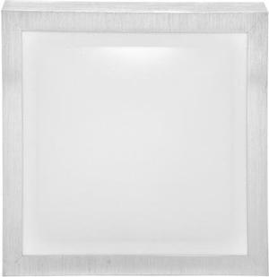 Strieborné stropné a nástenné LED svietidlo s čidlom 22W biela