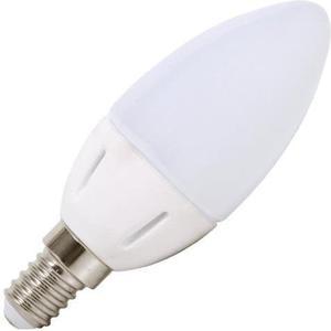 Mini LED žiarovka E14 sviečka 7W biela