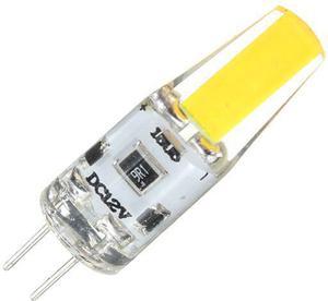 LED žiarovka G4 3W 12V COB studená biela
