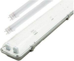LED žiarivkové těleso 150cm + 2x LED žiarivka teplá biela 4320lm