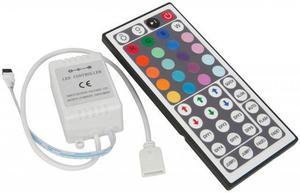 Ovládač RGB LED pásik s IR ovládáním 44 tlačítek