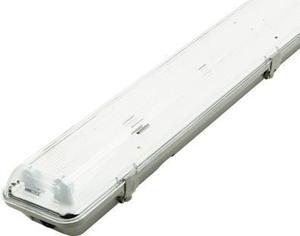 LED prachotesné teleso 2x 120cm (bez trubic)