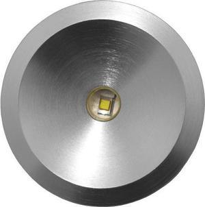 Kovové zápustné LED svietidlo 3W studená biela