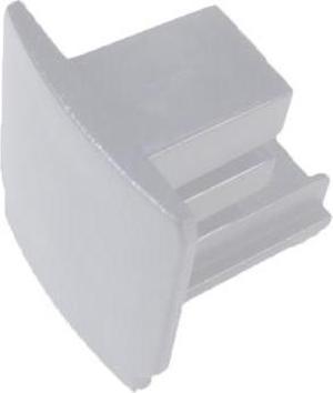 Záslepka krátká pre bielu 3-Fázovú lištu