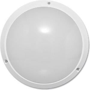 Biele nástenné svietidlo 12W s HF senzorom