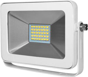 Biely LED reflektor RW 15W studená biela