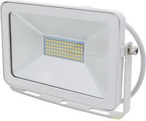 Biely LED reflektor RW 30W teplá biela