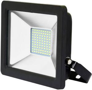 Čierny LED reflektor 30W city 5000K neutrálna biela