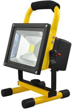 LED reflektor 20W s batérií Gary AKU neutrálna biela
