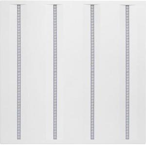 Biely LED panel 600 x 600mm 36W virgo prefi n4a neutrálna biela