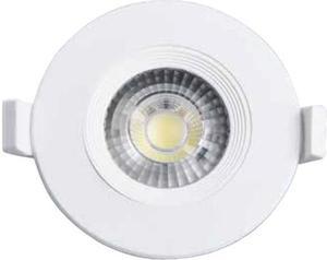 Biele vstavané podhledové LED svietidlo jimmy 7W neutrálna biela