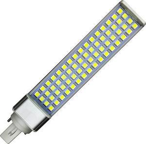 LED žiarovka G24 13W studená biela