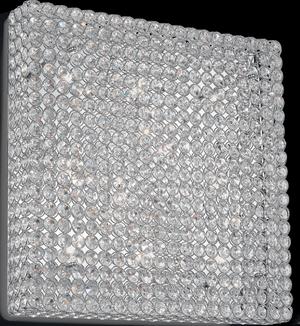 Ideal lux LED Admiral Cromo nástenné svietidlo 10x4,5W 80291