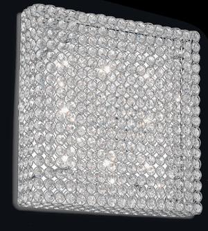 Ideal lux LED Admiral Cromo nástenné svietidlo 8x4,5W 80352