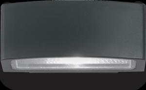 Ideal lux LED Andromeda nero nástenné svietidlo 5W 61597