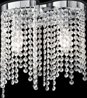 Ideal lux LED Aurora stropné svietidlo 2x5W 13763