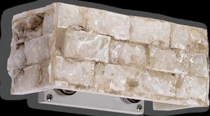 Ideal lux LED Carrara nástenné svietidlo 2x4,5W 18775