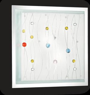 Ideal lux LED Ocean color nástenné svietidlo 2x5W 91006