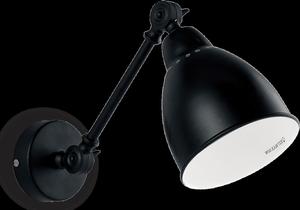 Ideal lux LED Newton nero nástenné svietidlo 5W 27852
