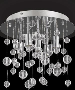 Ideal lux LED Neve Cromo stropné svietidlo 5x4,5W 94687